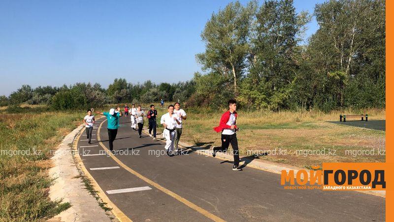 Новости Уральск - В Уральске отметили День спорта