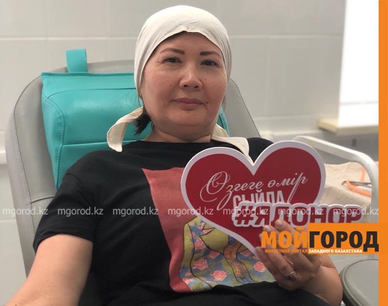 Новости Атырау - Донорскую кровь сдали 90 жителей Атырау