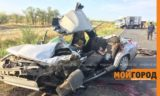 В страшной аварии на автодороге Уральск-Атырау погиб мужчина (фото)