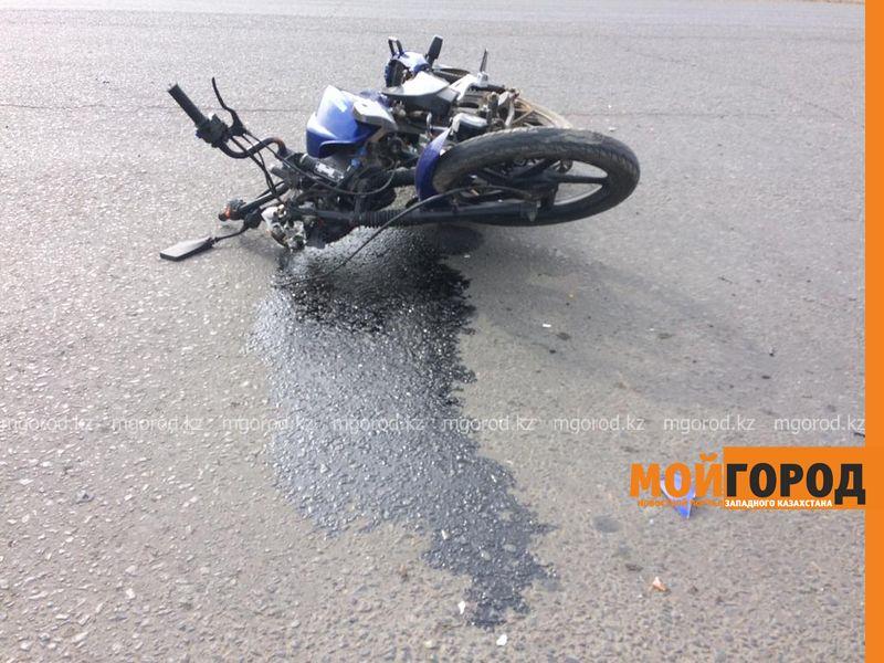 Три ДТП с участием мотоциклистов произошли в Атырау Подростка на мопеде сбили в Уральске