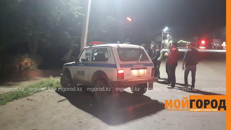 Новости Уральск - Попавший в ДТП на служебной машине полицейский был пьян