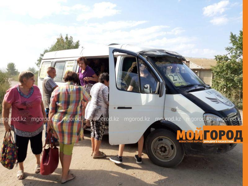 Новости Уральск - Дачники Уральска жалуются на автобусный маршрут