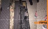В Атырау охотник оставил в открытом багажнике свои ружья