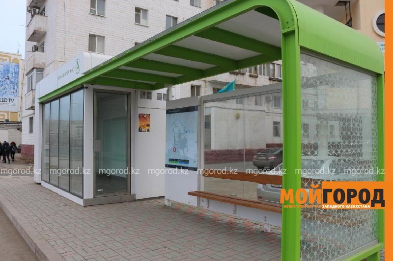 Новости Атырау - В Атырау установят более 100 остановочных павильонов