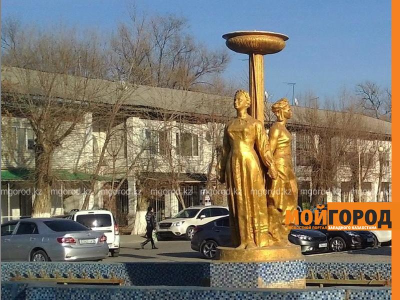 Новости Атырау - В Атырау заменят старейший фонтан