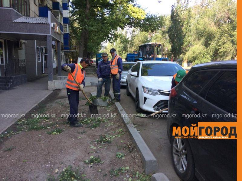 Новости Уральск - Последствия ураганного ветра устраняют в ЗКО