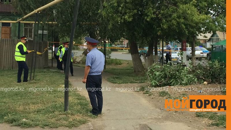 Взрывное устройство обнаружено возле мусорных баков в Уральске