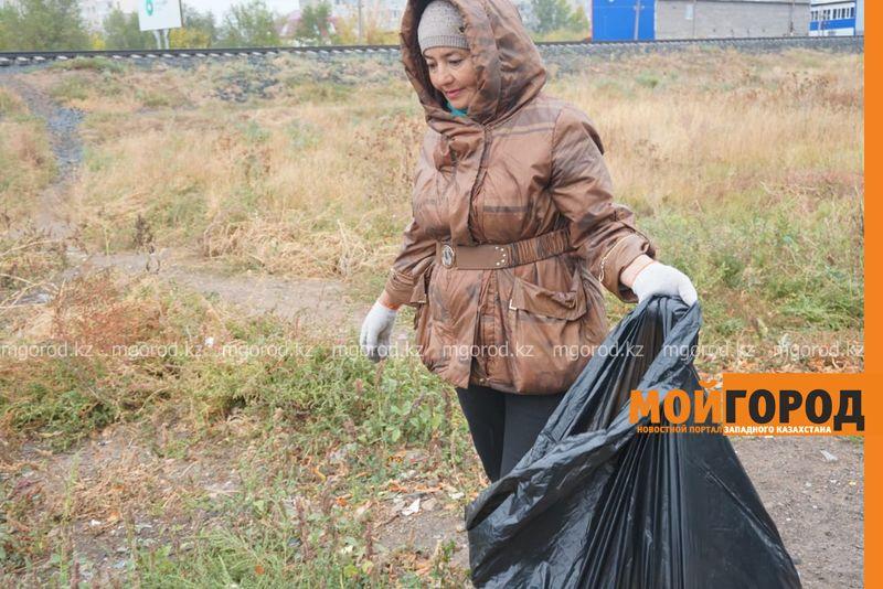 Новости Уральск - 670 кубометров мусора было вывезено из Уральска
