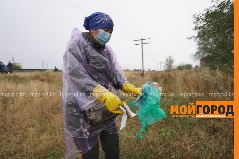 670 кубометров мусора было вывезено из Уральска