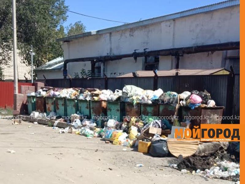 Актобе завалило мусором