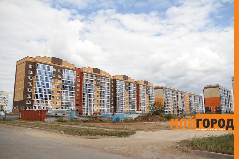Два многоквартирных жилых дома для многодетных семей строится в ЗКО