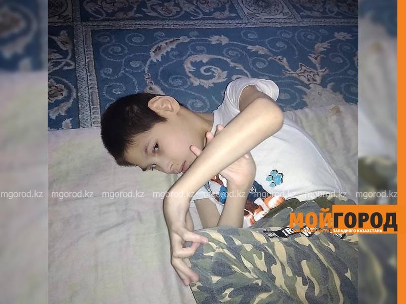 Мы с сыном верим в чудо - мама больного ребенка из Уральска