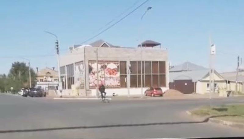 Новости Уральск - Полицейские разыскивают велосипедиста-экстремала в Уральске