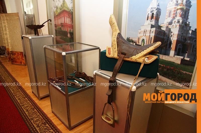Экспонаты из Атырауского музея привезли в Уральск