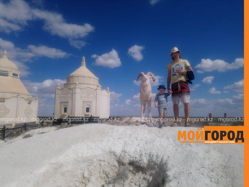 Семья блогеров из России рассказала о путешествии по западному Казахстану (фото)