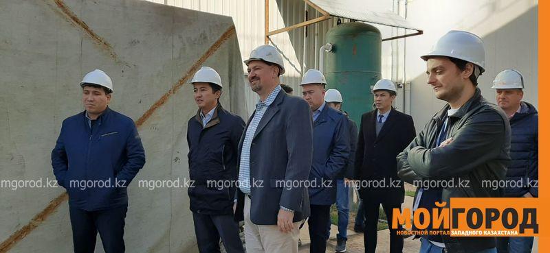 С рабочей поездкой в Бурлинском районе побывал первый заместитель акима области Мухтар Манкеев
