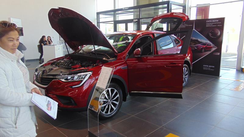 Атырау оценил возможности новейших автомобилей Renault