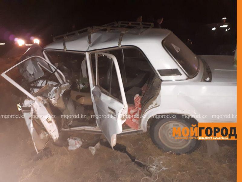 Новости Уральск - Один человек погиб и трое пострадали при столкновении двух авто в ЗКО