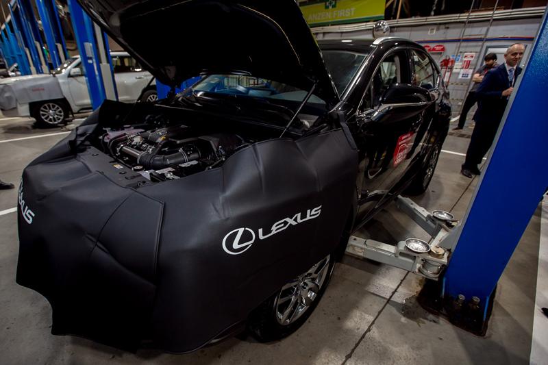 Новости Атырау - В Атырау на базе «Тойота-центра» презентовали официальный сервисный центр Lexus