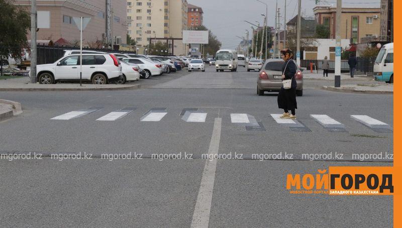Новости Атырау - Пешеходные переходы 3D формата появились на улицах Атырау
