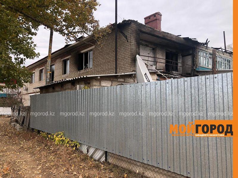 Из-за пожара 8 семей остались без жилья в ЗКО