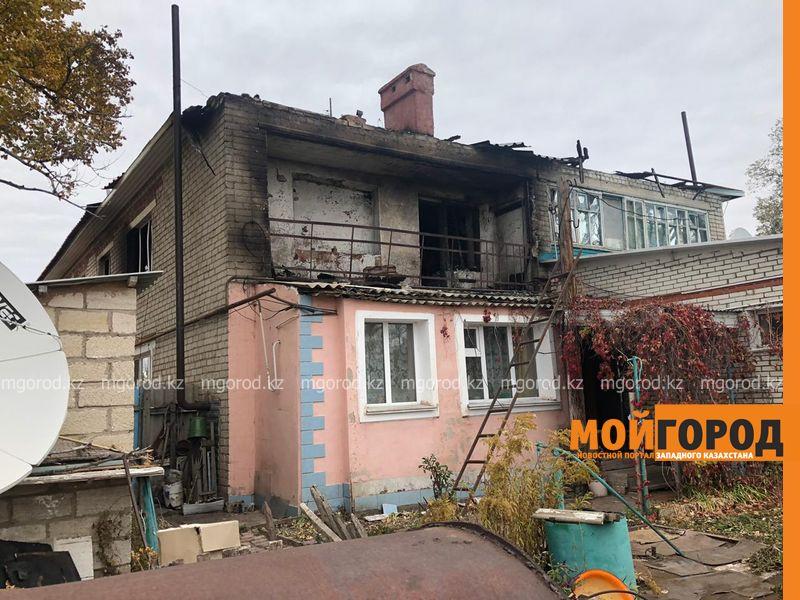 Погорельцам из села ЗКО помогут восстановить дом