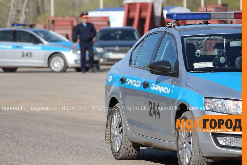 В ЗКО чиновник совершил ДТП на служебной машине, находясь в отпуске