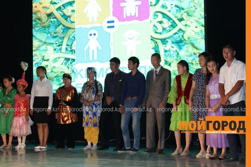 Новости Уральск - В районе ЗКО прошел творческий фестиваль для людей с ограниченными возможностями
