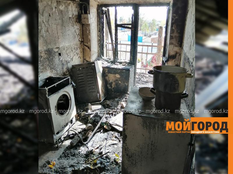 Новости Уральск - Из-за пожара 8 семей остались без жилья в ЗКО
