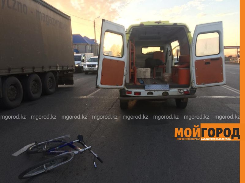 Новости Уральск - Велосипедиста сбили в Уральске