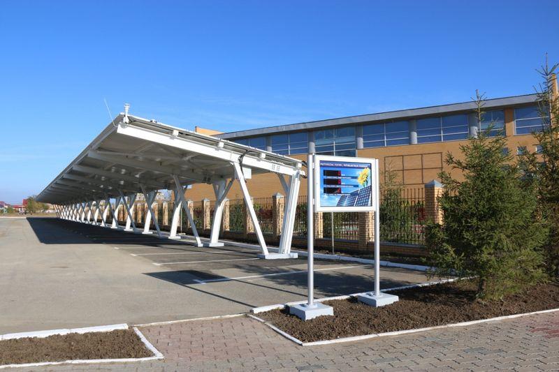 В Назарбаев Интеллектуальной школе Уральска запустили солнечную станцию