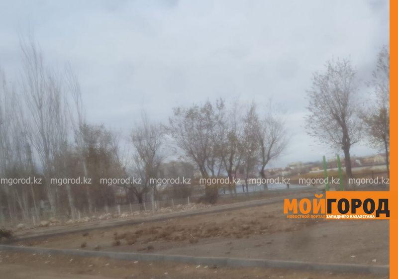Новости Атырау - В Атырау убирают уличные тренажеры