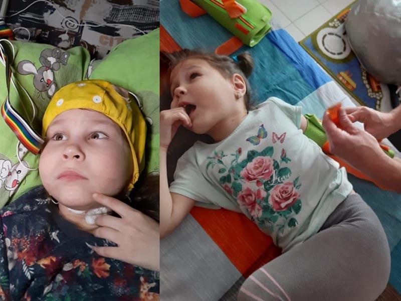 У моей Даяны есть будущее - мама больной девочки из Уральска