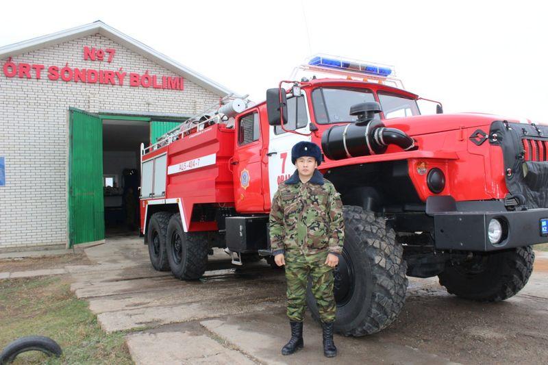 Новости Уральск - Уральский пожарный спас человека от суицида