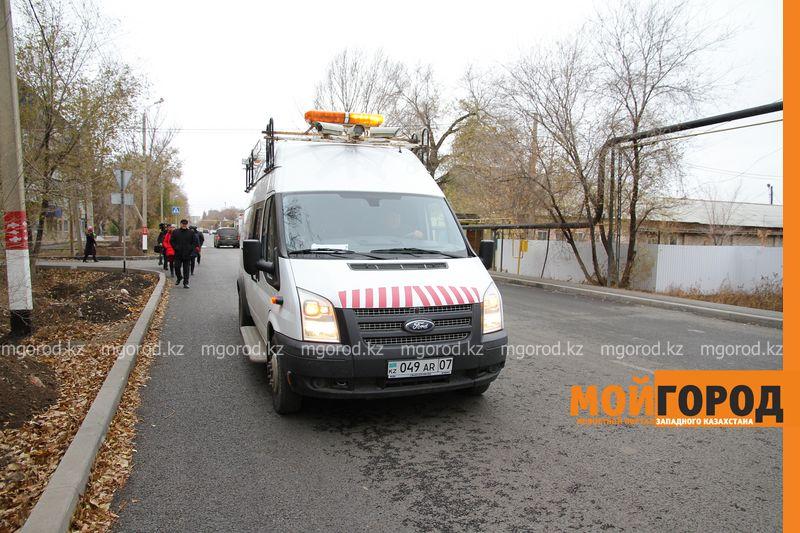 В Уральске построили дорогу с нарушениями
