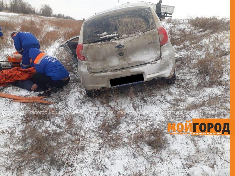 Мужчина погиб в ДТП на трассе Уральск-Атырау
