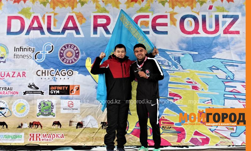 Житель ЗКО занял первое место в забеге в Атырау