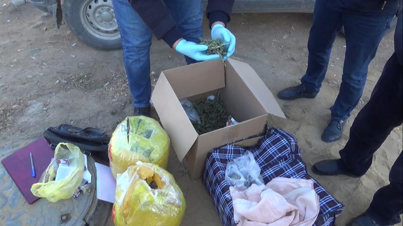 15 кг высушенной марихуаны нашли в сумке у жителя Актобе (видео)