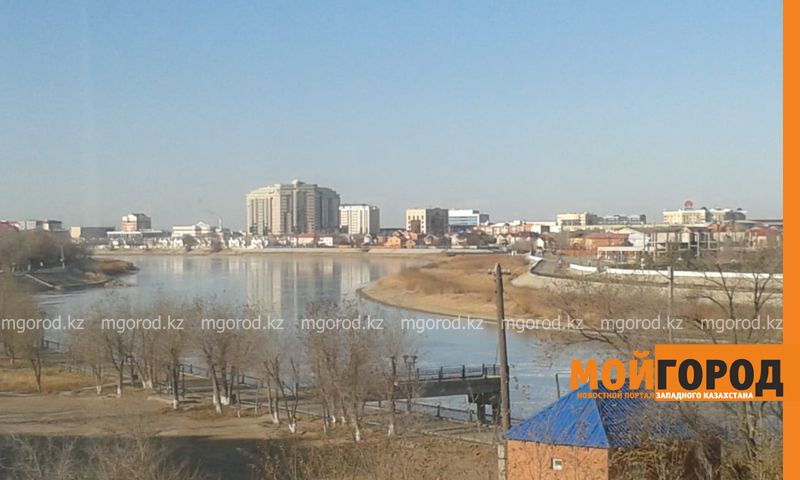 Новости Атырау - В Атырау впервые за несколько лет так рано на Урале встал лед