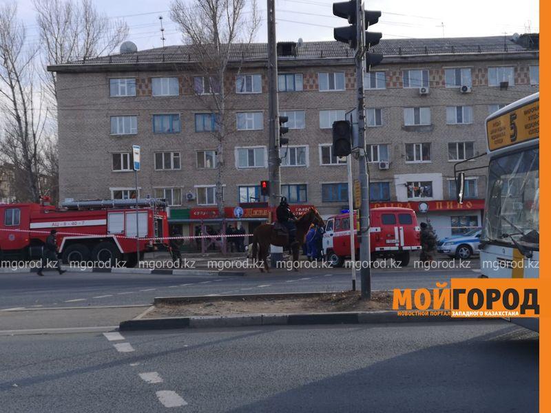 Мужчина взял жену в заложники в Уральске (фото)