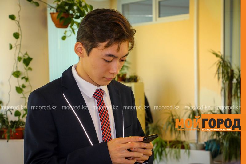Новости Атырау - Ученик атырауской школы создал соцсеть для волонтеров