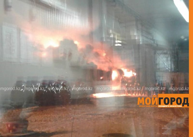 Новости Уральск - Пожар произошел на месторождении в ЗКО (фото, видео)