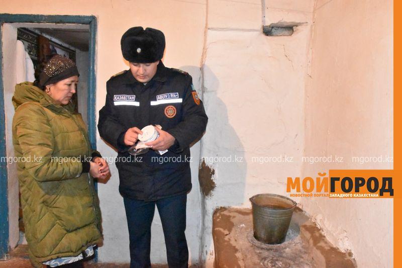 Датчики угарного газа бесплатно установили в домах ЗКО