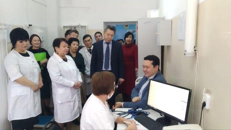 С рабочей поездкой ЗКО посетил вице-министр здравоохранения Олжас Абишев