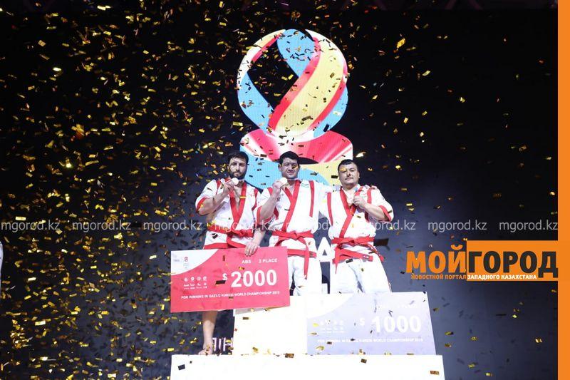 5 золотых медалей завоевали казахстанские борцы на чемпионате мира по Qazaq Kuresi