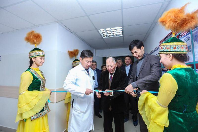 Новости Уральск - Инсультный центр открыли в Акжайыкском районе