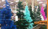 Сколько стоит самая дорогая искусственная елка в Уральске?