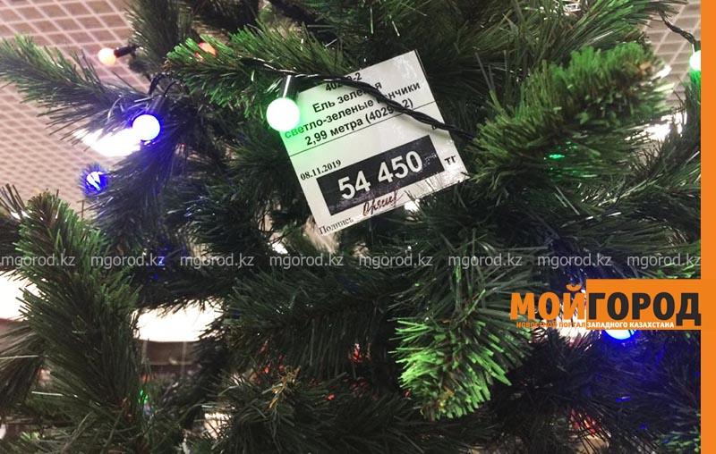 Новости Уральск - Сколько стоит самая дорогая искусственная елка в Уральске?