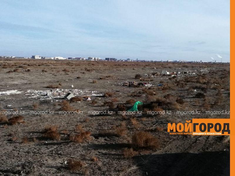 Атырау утопает в мусоре