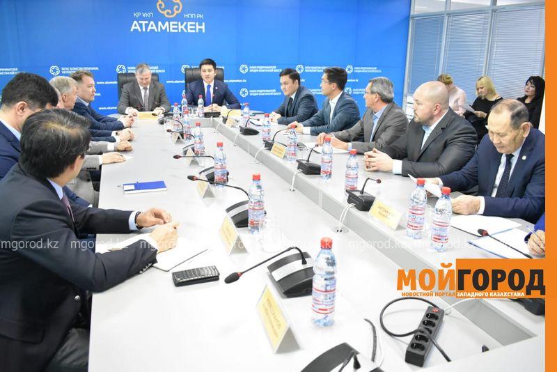 Меморандум подписали акимат ЗКО и компания NCOC